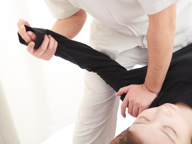 病院での肩の治療